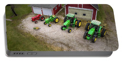 Lining Up The Tractors Portable Battery Charger