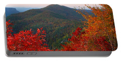 Portable Battery Charger featuring the photograph Linville Gorge by Kathryn Meyer