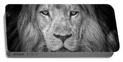 Portable Battery Charger featuring the photograph Lion 5716 by Traven Milovich