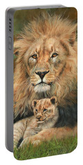 Lion And Cub Portable Battery Charger