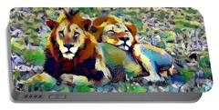 Lion Buddies Portable Battery Charger