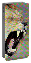 Lion By Patricia Griffin Portable Battery Charger
