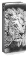 Fluffy Lion Portable Battery Charger