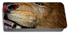Lion Fractal Portable Battery Charger