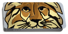 Lion Front Portable Battery Charger