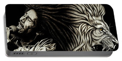 Lion Heart -bob Marley Portable Battery Charger