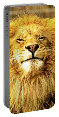 Lion King 1 Portable Battery Charger by Ayasha Loya