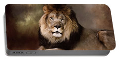 Lion King Of The Jungle Portable Battery Charger