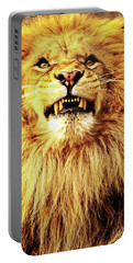 Lion King Smiling Portable Battery Charger