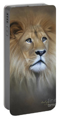 Lion Portable Battery Charger by Lena Auxier