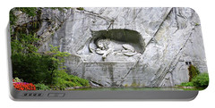 Lion Of Lucerne Portable Battery Charger