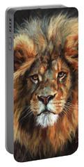 Lion Portrait 111 Portable Battery Charger