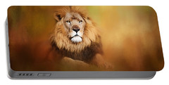 Lion - Pride Of Africa I - Tribute To Cecil Portable Battery Charger