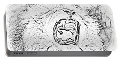 Lion Roar Drawing Portable Battery Charger