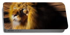 Lion The King Is Comming Portable Battery Charger