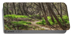 Lion Trail At Hassayampa Nature Reserve Portable Battery Charger by Anne Rodkin
