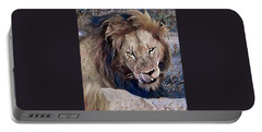 Lion With Tongue Portable Battery Charger