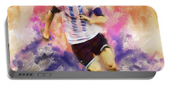 Lionel Messi 094c Portable Battery Charger
