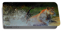 Lioness In Motion Portable Battery Charger