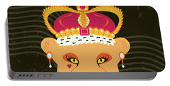 Lioness Queen Portable Battery Charger