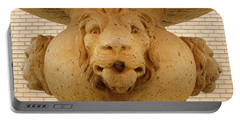 Lions All Around Portable Battery Charger by Mary Ellen Frazee