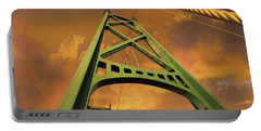 Lions Gate Bridge Tower Portable Battery Charger