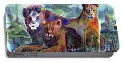Lion's Play Portable Battery Charger