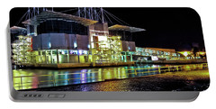 Lisbon - Portugal - Oceanarium At Night Portable Battery Charger