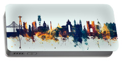 Lisbon Portugal Skyline Portable Battery Charger