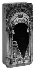 Lisbon - Portugal - Triumphal Arch - Rua Augusta Portable Battery Charger