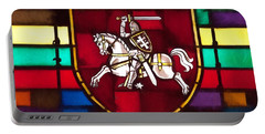Lithuania Coat Of Arms Portable Battery Charger
