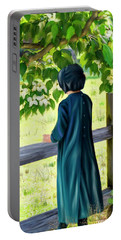 Little Amish Girl Portable Battery Charger
