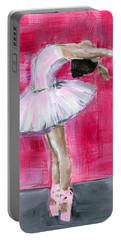 Little Ballerina #2 Portable Battery Charger
