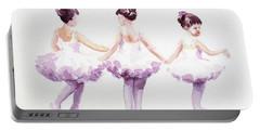Little Ballerinas-3 Portable Battery Charger