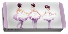 Little Ballerinas-3 Portable Battery Charger