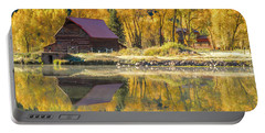 Little Barn By The Lake Portable Battery Charger