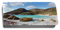 Portable Battery Charger featuring the photograph Little Beach Two Peoples Bay Nature Reserve by Ivy Ho