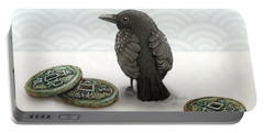 Little Bird And Coins Portable Battery Charger