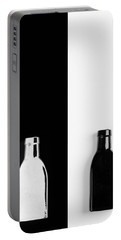 Portable Battery Charger featuring the photograph Little Black  Bottle by Andrey  Godyaykin