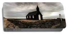 Little Black Church Portable Battery Charger