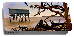 Little Blue Hunting Island State Park Beaufort Sc Portable Battery Charger