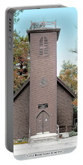 Little Brown Church Portable Battery Charger