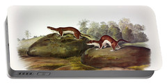 Little Brown Weasel Portable Battery Charger