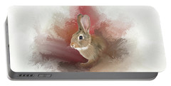 Little Bunny Portable Battery Charger by Mary Timman