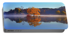 Little Cedar Lake Portable Battery Charger by Phil Koch
