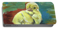 Little Chick - Baby Chicken Portable Battery Charger by Jan Dappen