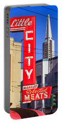 Little City Market North Beach San Francisco Portable Battery Charger