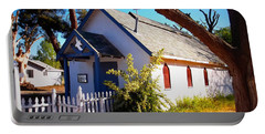 Little Country Church Portable Battery Charger by Glenn McCarthy Art and Photography