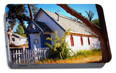 Portable Battery Charger featuring the photograph Little Country Church by Glenn McCarthy Art and Photography