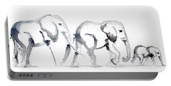 Little Elephant Family Portable Battery Charger